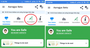 A Step by Step guide to register yourself for Covid-19 Vaccination on Aarogya Setu App1-FeaturedImage