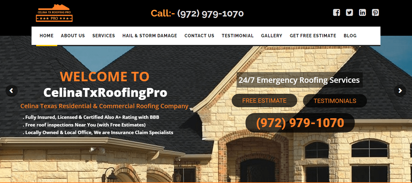 Celina Tx Roofing Pro banner